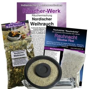 Nordischer Weihrauch Rauhnacht 6-tlg Räucherset