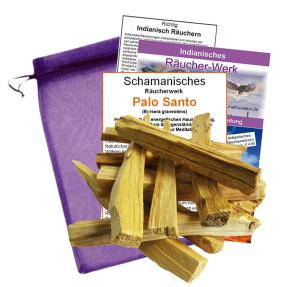 Palo Santo 12 Stück Heiliges Holz Indianer Räucherwerk