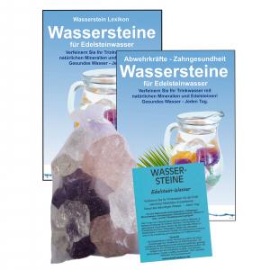 EDELSTEINWASSER GRUNDMISCHUNG 4-tlg SET | WASSERSTEINE 300g