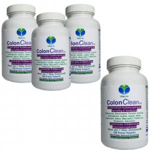 Colon Clean Out 14 Darm Aktiv Kräuter 720 Pulver Kapseln