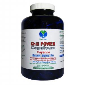 Chili POWER CAPSICUM PRO F-BURNER 360 Cayenne Kapseln