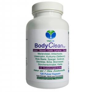 BODY Clean Out Detox 12 Ausleitungskräuter 120 Pulver Kapseln