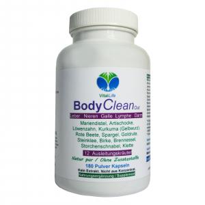 BODY Clean Out Detox 12 Ausleitungskräuter 180 Pulver Kapseln