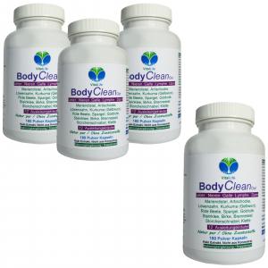 BODY Clean Out Detox 12 Ausleitungskräuter 720 Pulver Kapseln